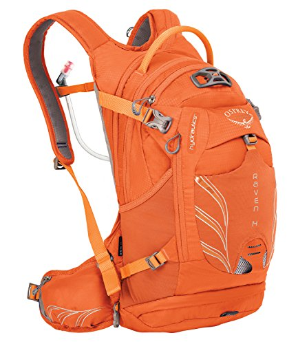 Osprey Packs Women's Raven 14 Hydration Pack, Tiger Orange