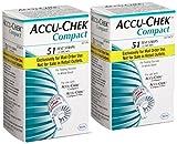 Accu Chek Compct Plus ( 2 Boxes of 51)