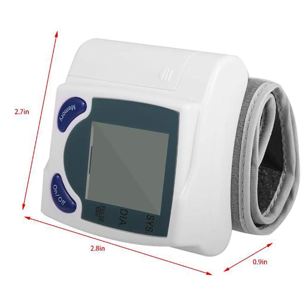 Qenci Wrist Digital Blood Pressure Monitor Tonometer Health Care Blood Pressure Monitors by Qenci (Image #3)
