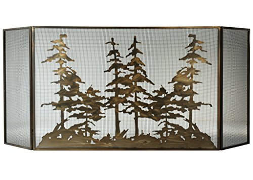Meyda Tiffany Fireplace Screen - Meyda Tiffany 113067 Fireplace Screens
