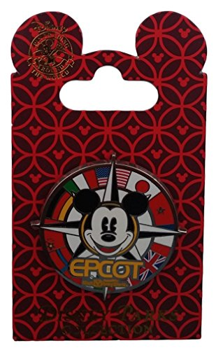disney-pin-epcot-flags-mickey-mouse-compass