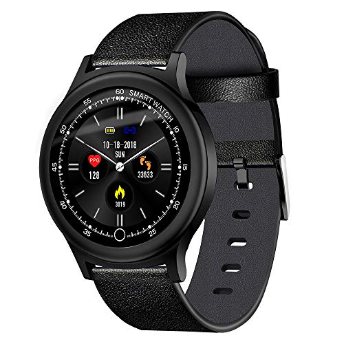 (TOOGOO Q28 Smart Watch 1.3 Inch TFT 240240 Color Screen Heart Rate Monitor IP67 Pedometer Sport Fitness Sleep Monitor Watches)