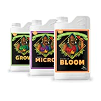 Advanced Nutrients pH Perfect Nutrients, Fertilizer. Bloom, Micro and Grow 1-Liter PACK OF 3