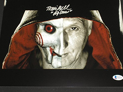TOBIN BELL Signed Saw 10x13 Photo Autograph Jigsaw BECKETT COA BAS