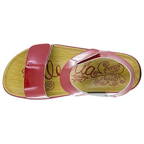 Clearance Store Barato Online Alegria Para Mujer Playa Sandalia Dúo Patente Rojo Liquidación envío gratuito Gjxn4Oik