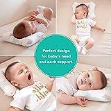 EDELFEEL Newborn Baby Head Shaping Pillow