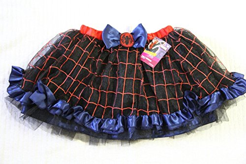 [Marvel Spider-Man Spider-Girl Tutu Child Costume size: Medium US 8-10] (Spiderman Tutu Costume)