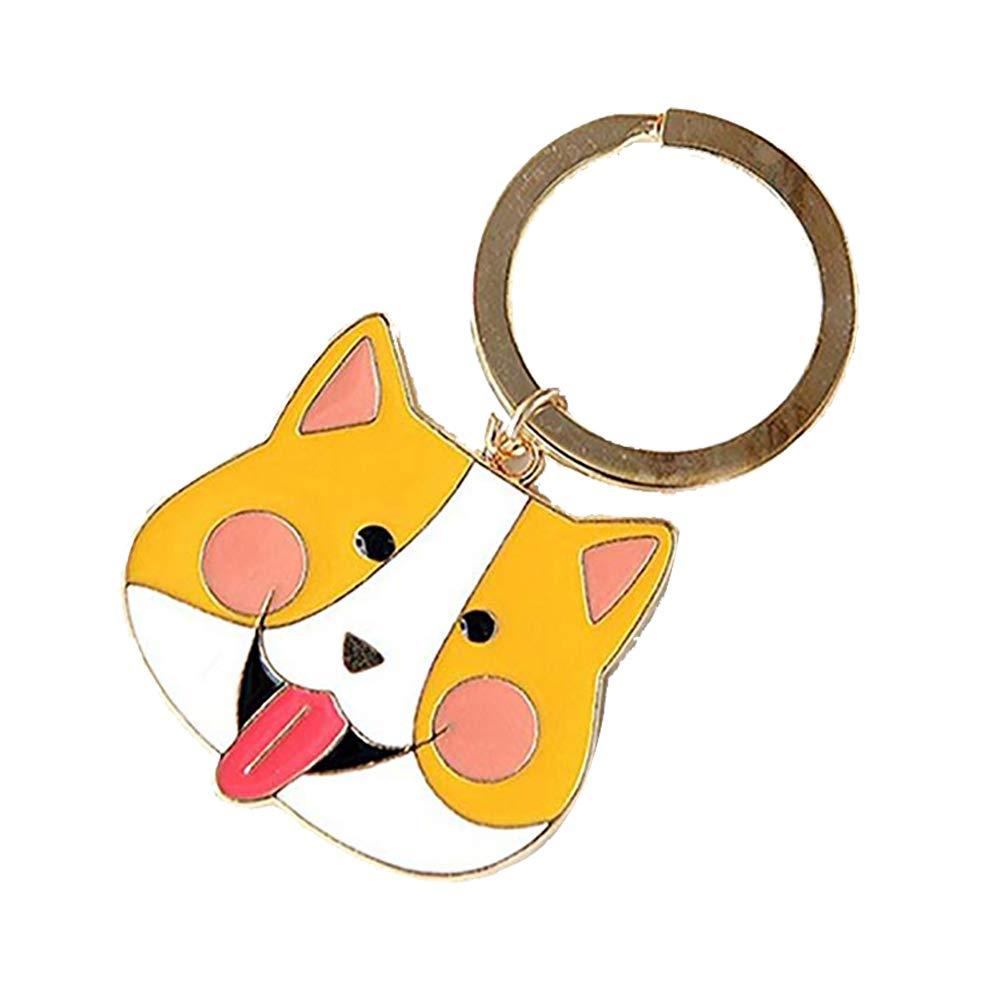 Joyfeel buy Cute Cartoon Little Dog Llavero de Metal ...