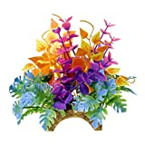 Blue Ribbon CB-2202 Garden Clusters Archway Plant Aquarium Ornament