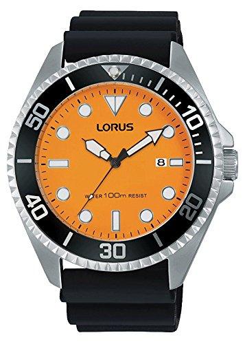 Lorus Reloj Analógico para Hombre de Cuarzo con Correa en Plástico RH949GX9: Amazon.es: Relojes