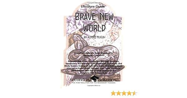 Brave New World Literature Guide (Common Core and NCTE/IRA ...