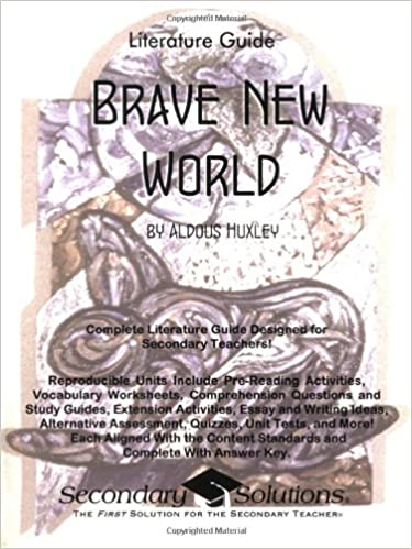 Brave New World Literature Guide (Common Core and NCTE/IRA ...