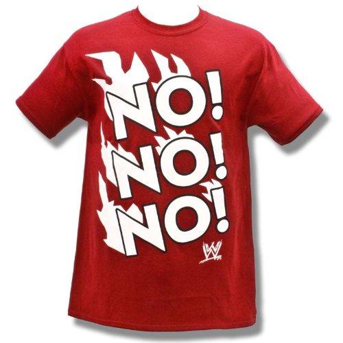 WWE Daniel Bryan No! No! No! Adult Size 2XL T-Shirt