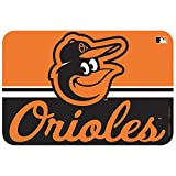 MLB Baltimore Orioles Mat, Small/20 x 30-Inch, White