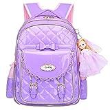 Best Barbie Book Bags - Bookbag for Girls,Gazigo Waterproof Kids Backpack with bows Review