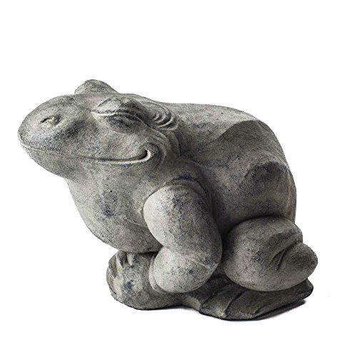 Repose ST10230795 Contented Toad Outdoor Statues