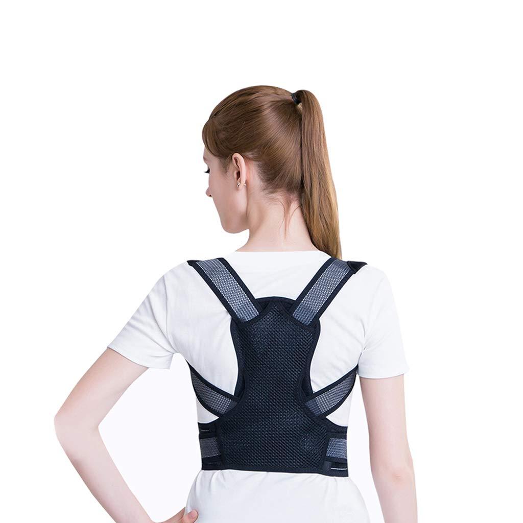 LZLBBJ Posture Correction Belt, Adult Men and Women Back Correction Belt Student Correction Clothing Hunchback Correction Belt Anti-Humpback Correction Belt (Size : S)