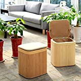 Storage Stool Storage Stool can sit Solid Wood Adult Home Multi-Function Rectangular Ottoman Sofa Bench Change Shoe Bench (Color : Green, Size : 302638cm)