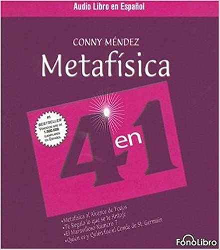 Metafisica 4 En 1 Spanish Edition 9781933499017 Conny Mendez Books