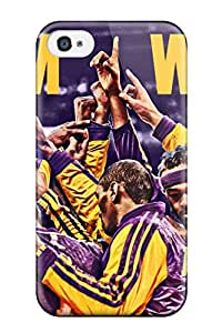 Los Angeles Lakers Nba Basketball (32) Case Compatible With Iphone 4/4s/ Hot Protection Case