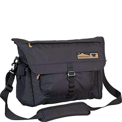 Mountainsmith Adventure Office Messenger Bag, Heritage Black, One Size -