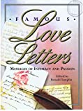 Famous Love Letters, Ronald Tamplin, 0895776499