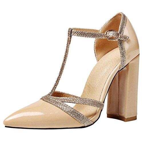 Bout Nude Pointue Escarpins AicciAizzi Chaussures Femmes Salome EH6gaq