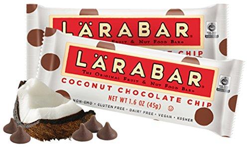 Larabar Gluten Free Bar, Coconut Chocolate Chip, 1.6 oz Bars (16 Count)