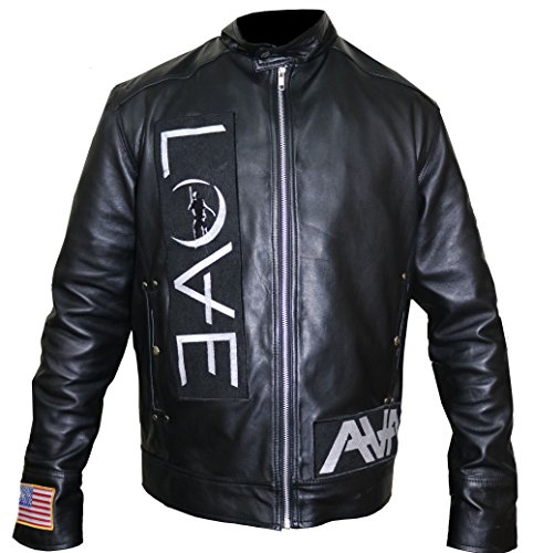 Angels and Airwaves Love Tom Delonge Sheep Leather Jacket,3XL. by The Jasperz (Image #2)
