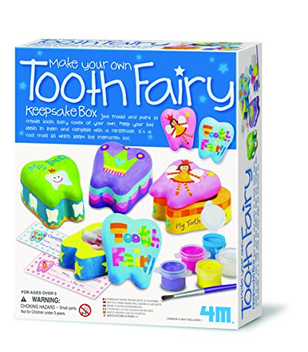 4m Make Your Own Tooth Fairy Keepsake Box by ToyMarket