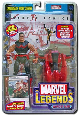 Wonder Man Marvel Legends Series 11 by Toybiz