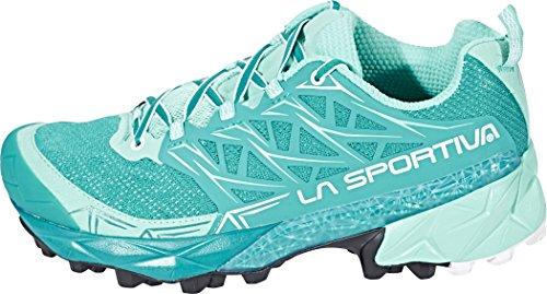 La Sportiva Mutant Scarpe Da Corsa Da Donna - Ss18 Akyra Donna Smeraldo / Menta Talla: 39
