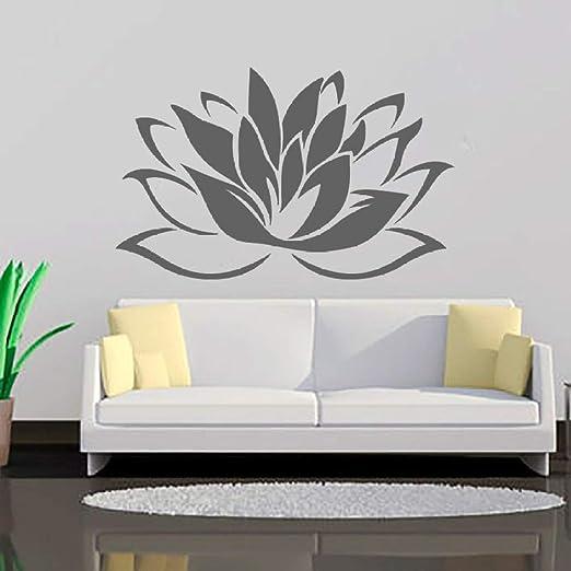 jiuyaomai Más vendidos Budismo Lotus Vinilos Decorativos Sala de ...