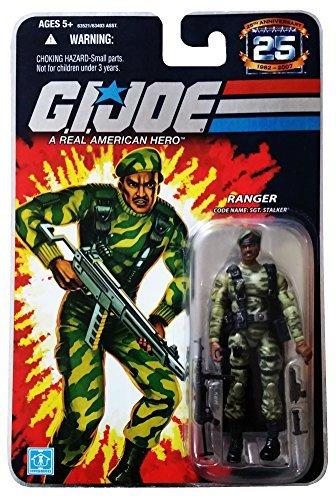 G.I. Joe 25th Anniversary: SGT. Stalker (Ranger) 3.75 Inch Action Figure -