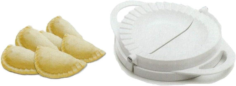 cortador de sellos Tredoni Prensa de masa de 16,5 cm Calzone molde para hacer empanadas