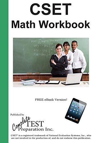 Cset Math Ctc Workbook: Practice Test Questions for Cset(r) Mathematics Test