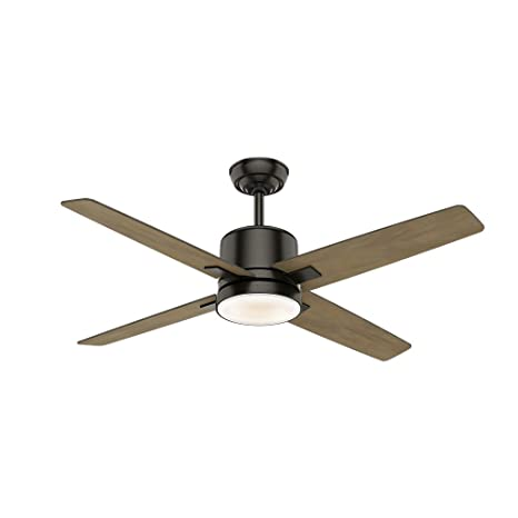 Casablanca Indoor Ceiling Fan with LED Light and wall control - Axial 52  inch, Nobel Bronze, 59341