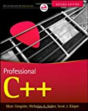 Professional C++, Marc Gregoire and Nicholas A. Solter, 0470932449