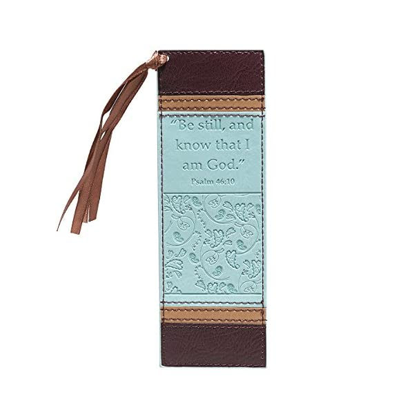 Be-Still-Faux-Leather-Pagemarker-Bookmark-Psalm-4610