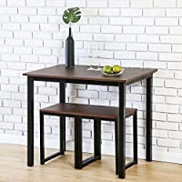 Homury Modern Wood 3 Piece Dining Set Studio Collection...