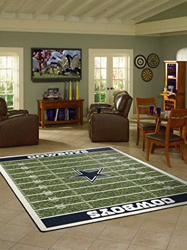 - Dallas Cowboys NFL Team Home Field Area Rug by Milliken, 3'10