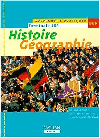 Livres gratuits en ligne Histoire-géographie, teminale BEP, 2000. Elève pdf