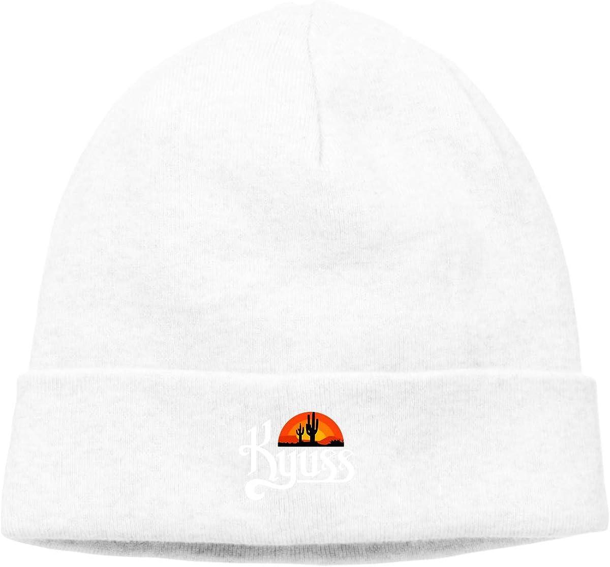 njsdi Kyuss Logo Mens/&Womens Warm Plain Skull