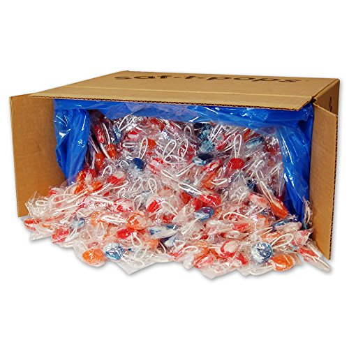 Saf-T-Pops Swirl Lollipops, 25-Pound by Saf-T-Pops