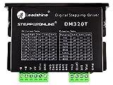 STEPPERONLINE Digital Stepper Driver 0.3-2.2A 18-30VDC 1/64 Micro-step Resolutions for Nema 8, 11, 14, 16, 17 Stepper Motor