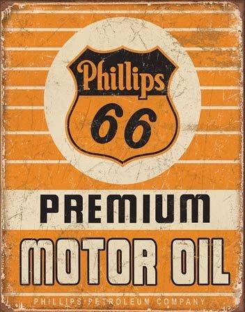 Phillips 66 Premium Oil, Tin Signs - Unframed