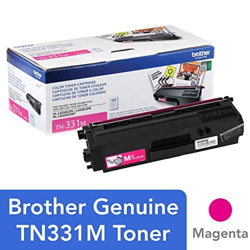 Brother Genuine TN331M Standard-yield Magenta Toner Cartridge ()