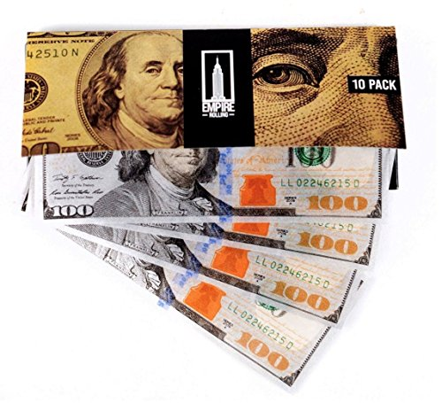 Empire Rolling 1 Wallet of $100 Bill Premium Rolling Papers