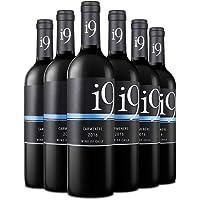 巴布瑞 i9佳美娜干红葡萄酒 750ml*6(智利进口红酒)