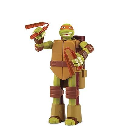 Giochi Preziosi - Tortugas Ninja, muñeca con Transformación ...